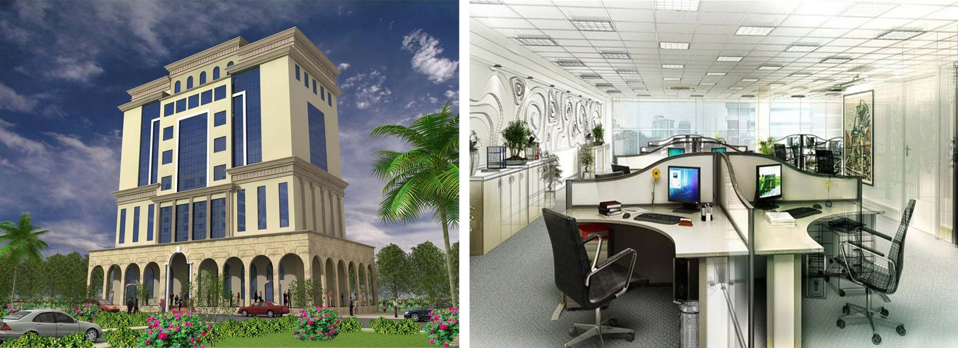 Commercial building for Badr Shipping