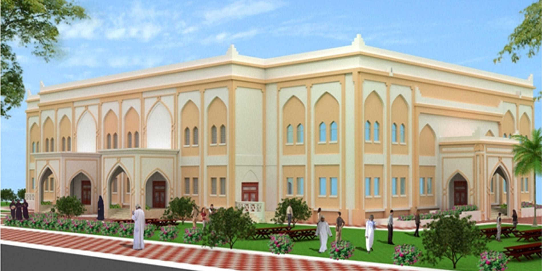 Multipurpose hall for Dhofar University